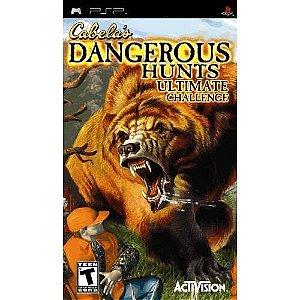 Usado: Jogo Cabela's Dangerous Hunts: Ultimate Challenge ( Sem Capa) - PSP