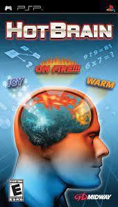 Usado: Jogo Hot Brain (Sem Capa) - PSP