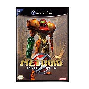 Usado: Jogo Metroid Prime - GameCube