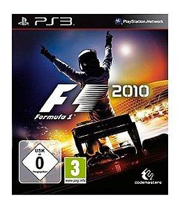 Jogo F1 2010 - PS3 - Seminovo
