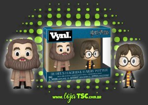 Pack - VNYL - Harry Potter & Rubeus Hagrid