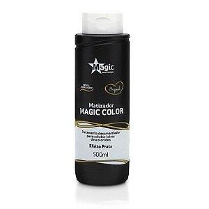 Magic Color Gloss 3d Matizador Platinum Blond Efeito Prata 500 Ml