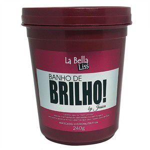 Banho de Brilho Máscara  240G La Bella Liss
