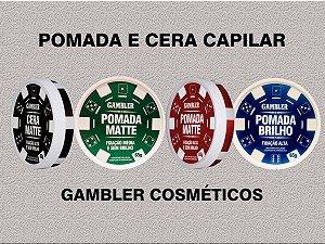 Pomada Modeladora Gambler 65g à escolher