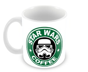 Caneca Star Wars Coffe