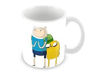 Caneca Hora de Aventura - Finn & Jake
