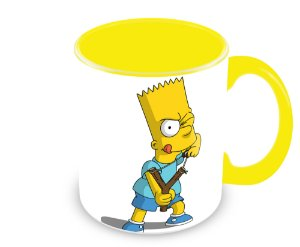 Caneca Os Simpsons - Bart Simpson