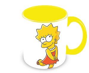 Caneca Os Simpsons - Lisa Simpson