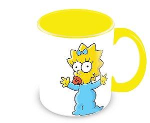 Caneca Os Simpsons - Maggie Simpson