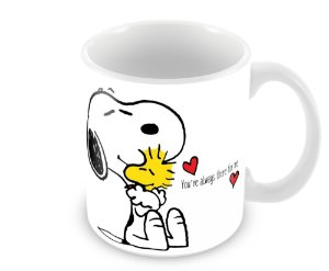 Caneca Snoopy - You're Always There For Me