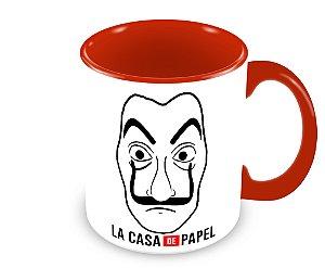 Caneca La Casa De Papel - Máscara