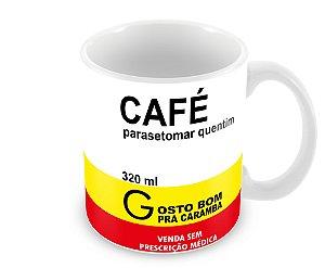 Caneca Remédio Café Parasetomar Quentim