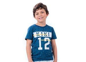 Camiseta Infantil Menino 12 Kiki