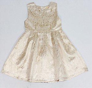 Vestido Dourado Mily