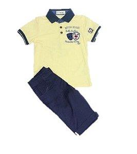 Conjunto Infantil Menino  Polo