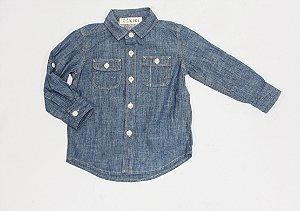 Camisa Jeans Bebê Kiki