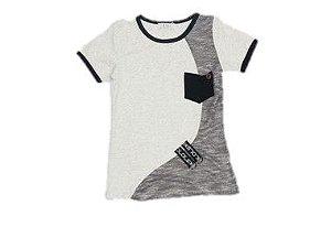 Camiseta Infantil Menino com Bolso