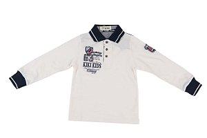Polo Infantil Menino Kiki Kids