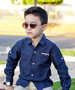 Camisa Social Bebê kiki