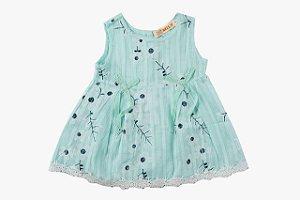 Vestido Infantil Menina Cereja
