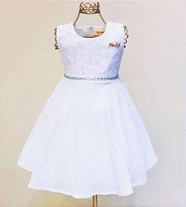 Vestido Branco Mily