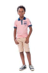 Camiseta Polo Masculina Kiki
