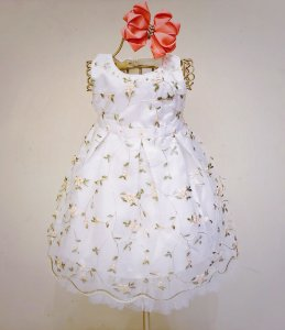 Vestido Floral Mily Branco