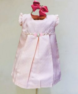 Vestido rosa Basico Mily