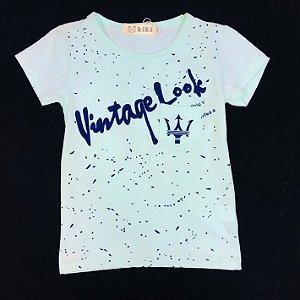 Camiseta Masculina Baby Vintage Kiki