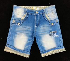 Bermuda Jeans 4-8 Anos
