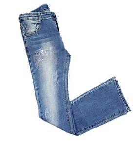 Calça Jeans Flare Infantil Menina