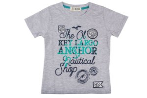 Camiseta Infantil Menino Anchor