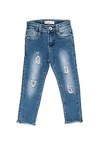 Calça Jeans Infantil Menina