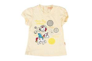 Blusa Unicórnio Infantil  Menina Primeiros Passos