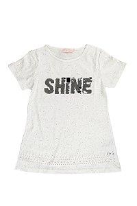 Blusa Teen Infantil  Menina Shine