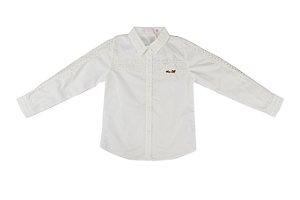 Camisa Social Infantil Menina