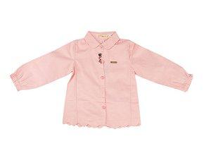 Camisa Infantil Menina Social