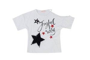 Blusa Infantil Menina Estrelas