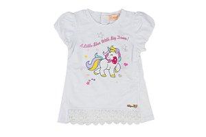 Blusa Infantil Menina Unicornio