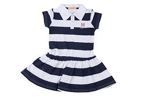 Vestido Infantil Menina Polo