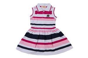 Vestido Infantil Menina Regata