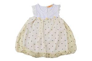 Vestido Infantil Menina Regata Leve