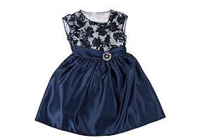 Vestido Infantil Menina Social