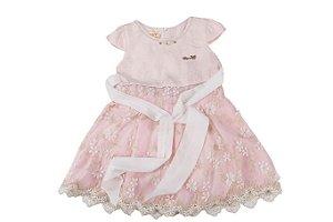 Vestido Infantil Menina Detalhado