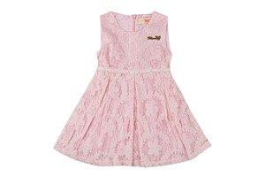 Vestido Infantil Menina Renda