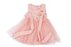 Vestido Infantil Menina Pedras