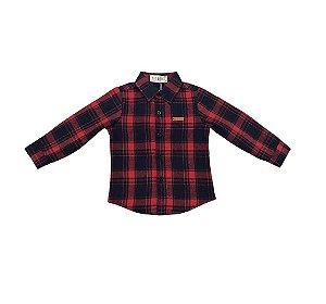 Camisa Flanela Infantil Menino