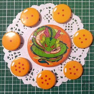 Set de Bottons - Dragon Ball