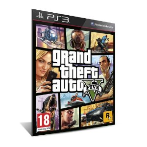 GRAND THEFT AUTO / GTA V - PS3 - MÍDIA DIGITAL