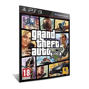 GRAND THEFT AUTO / GTA V - PS3 - MÍDIA DIGITAL